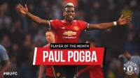Pogba là cầu thủ ManUtd hay nhất tháng 4-2018