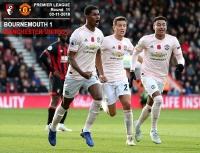 Bournemouth 1-2 Manchester United - Premier League - 03-11-2018
