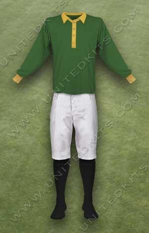 Trang phục thi đấu Manchester United mùa giải 1895 1896
