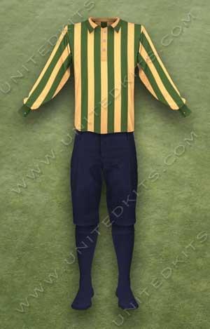 Trang phục thi đấu Manchester United mùa giải 1897 1898