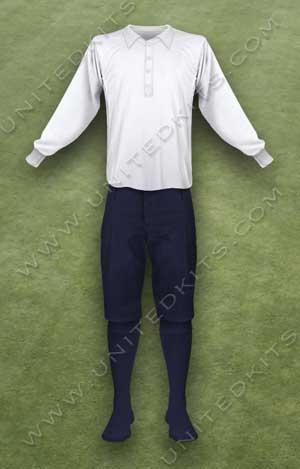 Trang phục thi đấu Manchester United mùa giải 1901 1902
