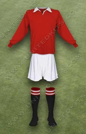 Trang phục thi đấu Manchester United mùa giải 1944 1945