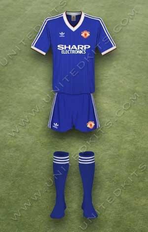 Trang phục thi đấu Manchester United mùa giải 1982 1983