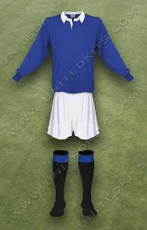 Trang phục thi đấu Manchester United mùa giải 1940 1941 thứ ba
