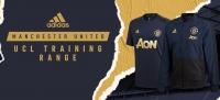 ManUtd ra mắt trang phục training UCL mùa 2018-2019