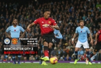 Manchester City 3-1 Manchester United - Premier League - 11-11-2018