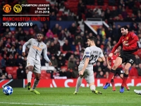 Manchester United 1-0 Young Boys - Champion League - 27-11-2018