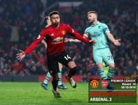 Manchester United 2-2 Arsenal - Premier League - 05-12-2018