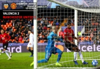 Valencia 2-1 Manchester United - Champion League - 12-12-2018